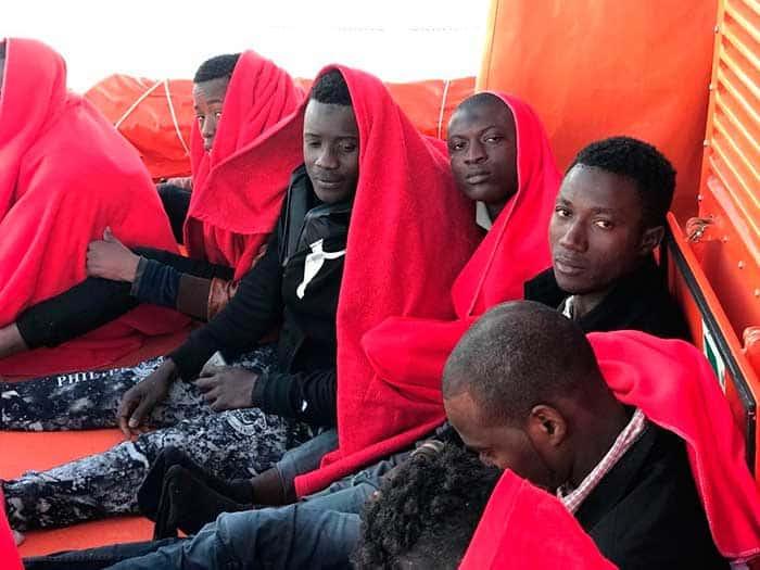 Salvamento Marítimo rescata 686 personas en costas andaluzas