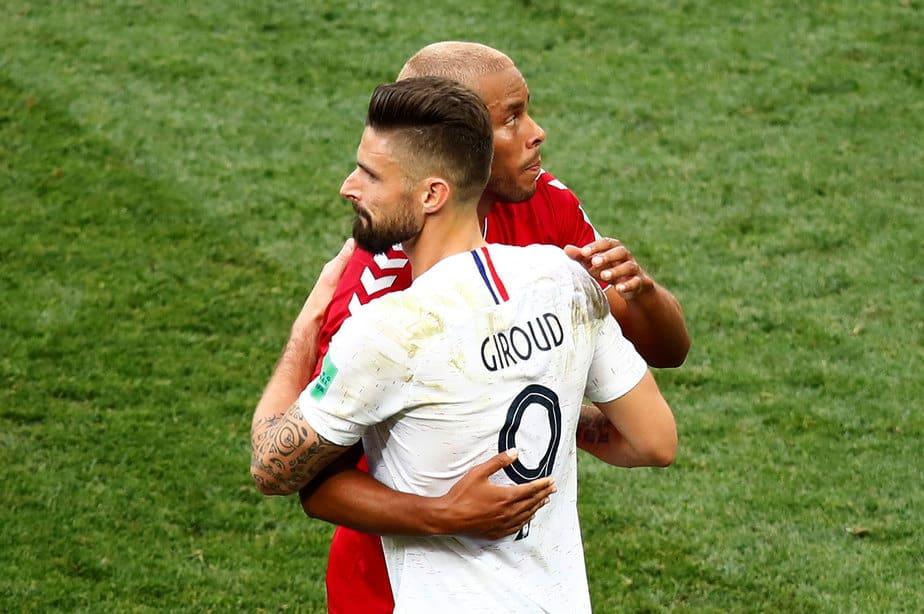 Mundial 2018: Dinamarca y Francia a los octavos de final
