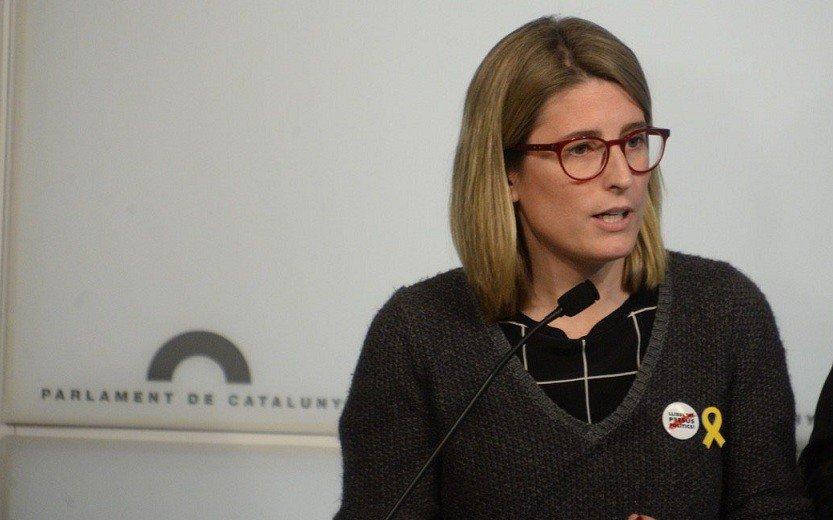 El Gobierno catalán no descarta una vía unilateral a la independencia, dice Elsa Artadi