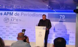 Ferreras, periodista del año de la Asociación de Prensa de Madrid