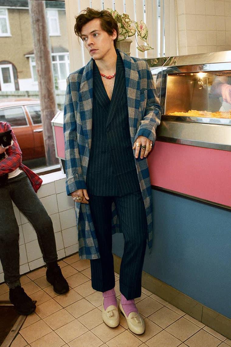 Trajes Masculinos de Gucci 2018: Harry Styles