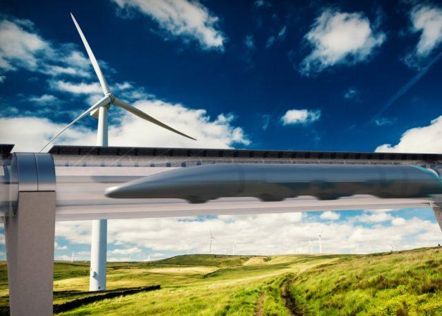 hyperloop en el mundo