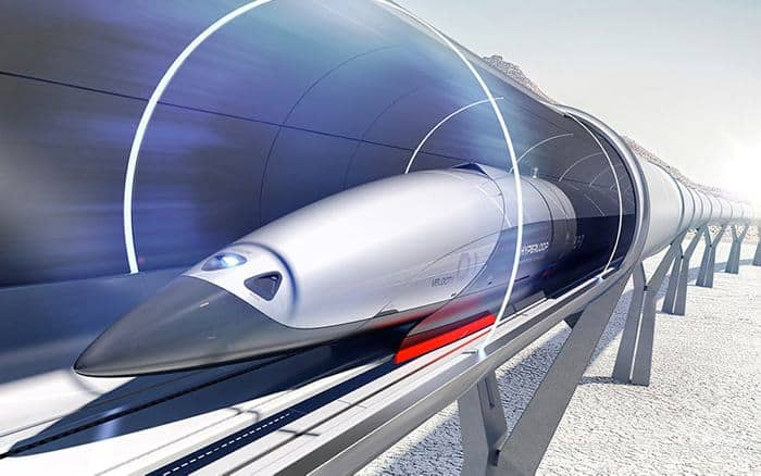 hyperloop en el mundo