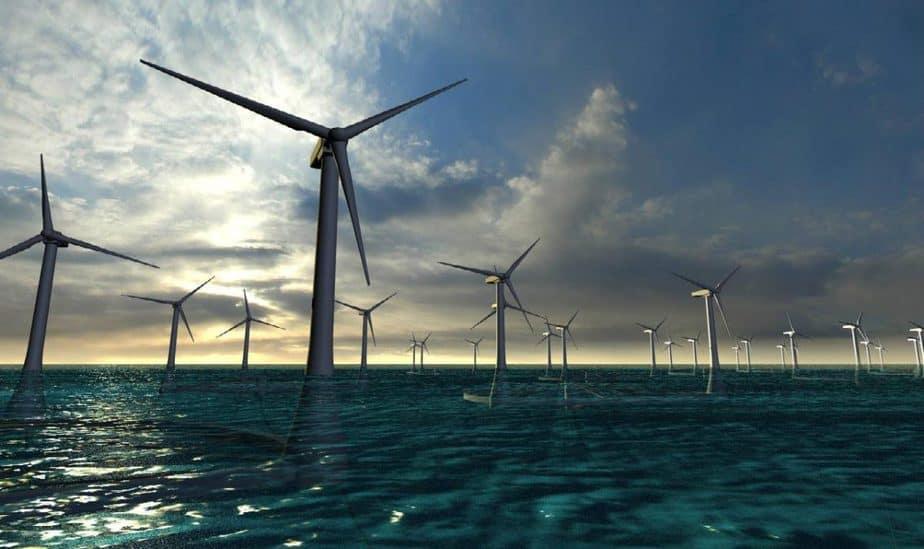 Primera turbina eólica marina de España ya se instala en las Islas Canarias