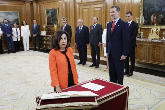 Nuevo gabinete: Margarita Robles