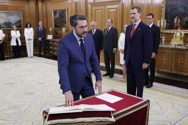 Nuevos ministros: Maxim Huerta