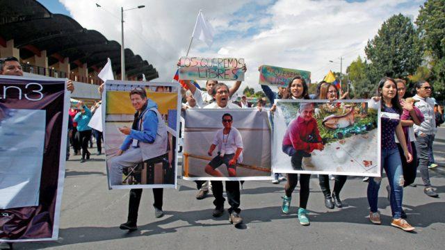 Colombia confirma hallazgo de cadáveres de los periodistas ecuatorianos