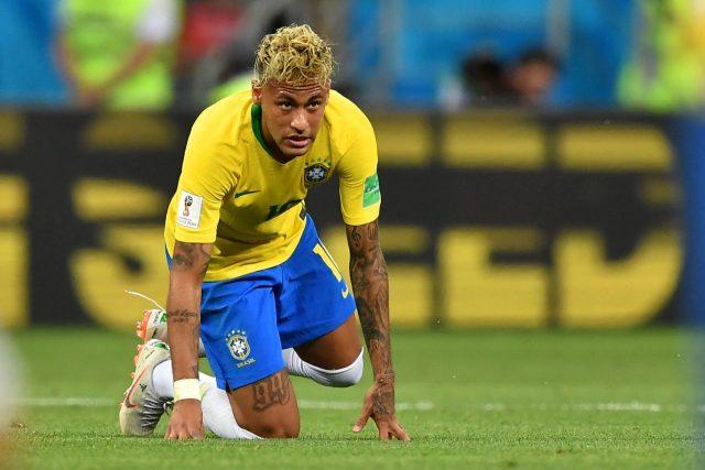 Mundial 2018 Brasil Suiza Neymar