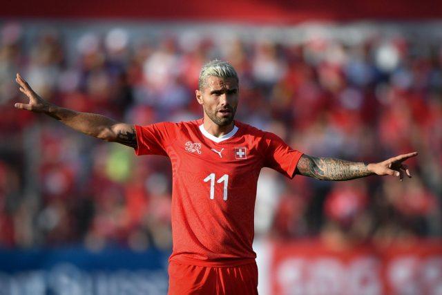 Mundial 2018 Brasil`Suiza Valon Behrami