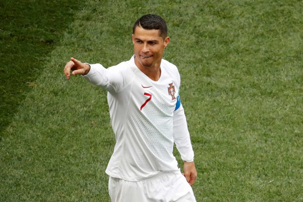 Mundial 2018 Marruecos Portugal