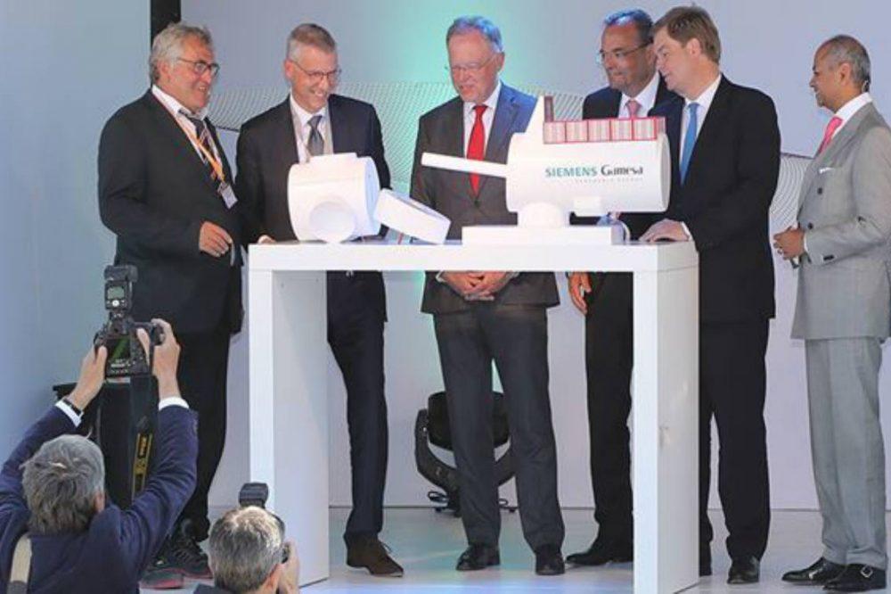 Siemens Gamesa inaugura planta de nacelles para eólica marina en Alemania