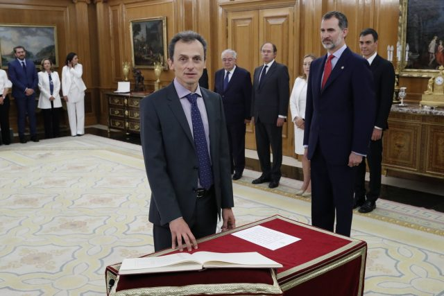 Nuevo gabinete: Pedro Duque