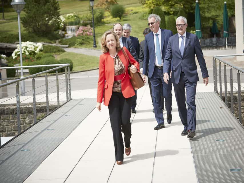 Nadia Calviño defiende la gestión económica en España