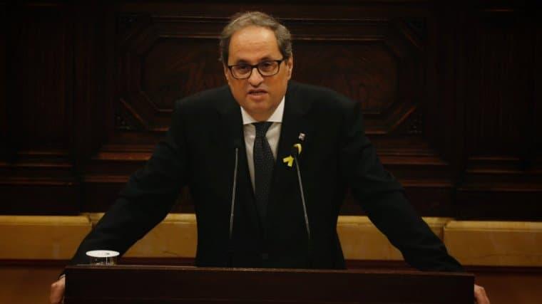 """Quim Torra responde a Sánchez: """"Lo que hay que pasar página es de un Estado autoritario"""""""