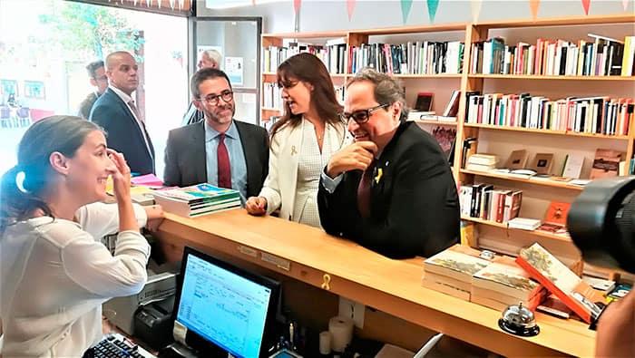 """El presidente de la Generalitat, Quim Torra apuesta por """"crear otro 1-O"""" para hacer efectiva la república catalana"""