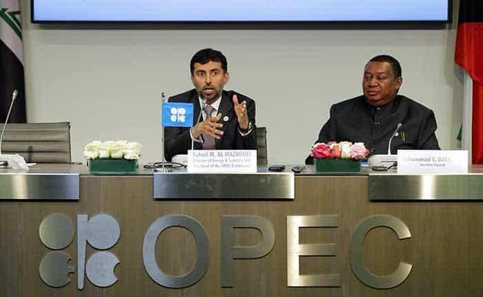 La OPEP elevará en casi 1 millón de barriles su oferta