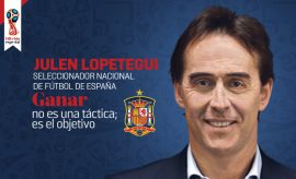 Revista Cambio16 Junio: Entrevista a Lopetegui, Pasión por España