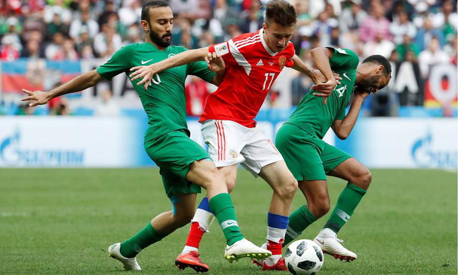 mundial 2018 rusia arabia saudita