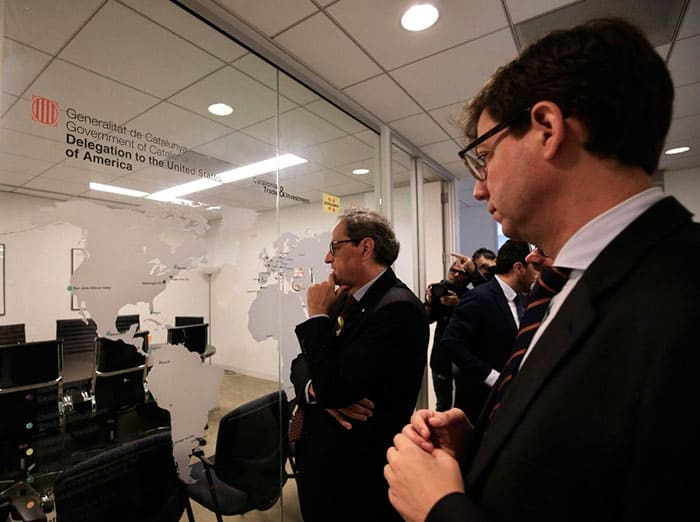Torra planteará un referéndum secesionista pactado a Sánchez