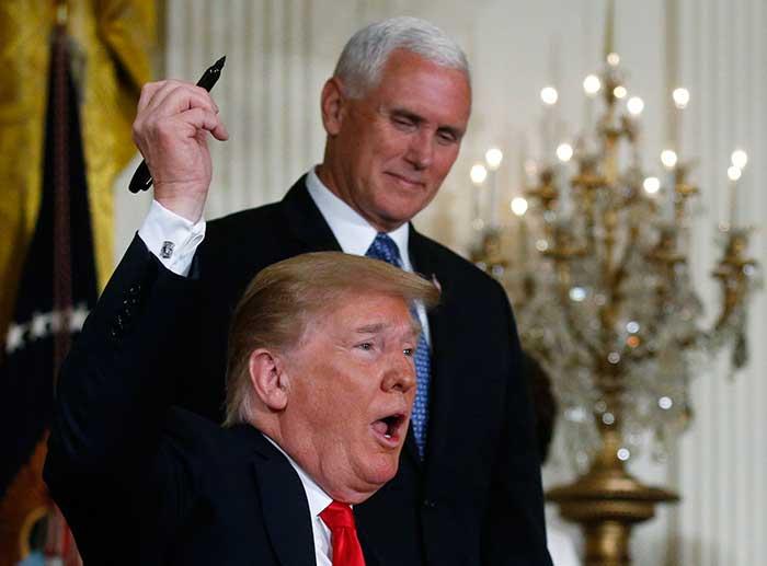 """""""La OMC siempre nos jode"""" dijo Trump a sus asesores"""