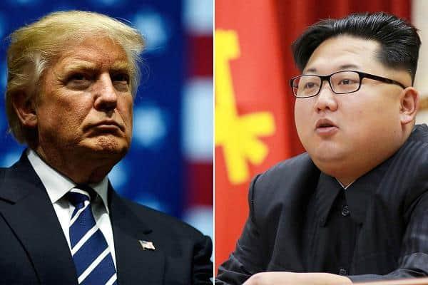Trump y Kim Jong-un en Singapur