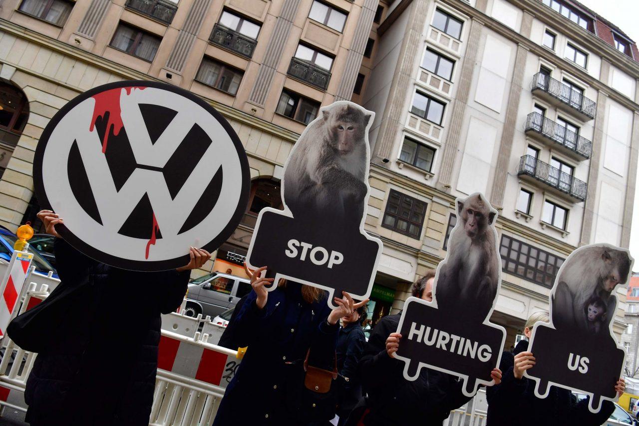 Volkswagen no experimentará con animales