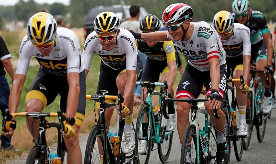 último etapa del tour de francia