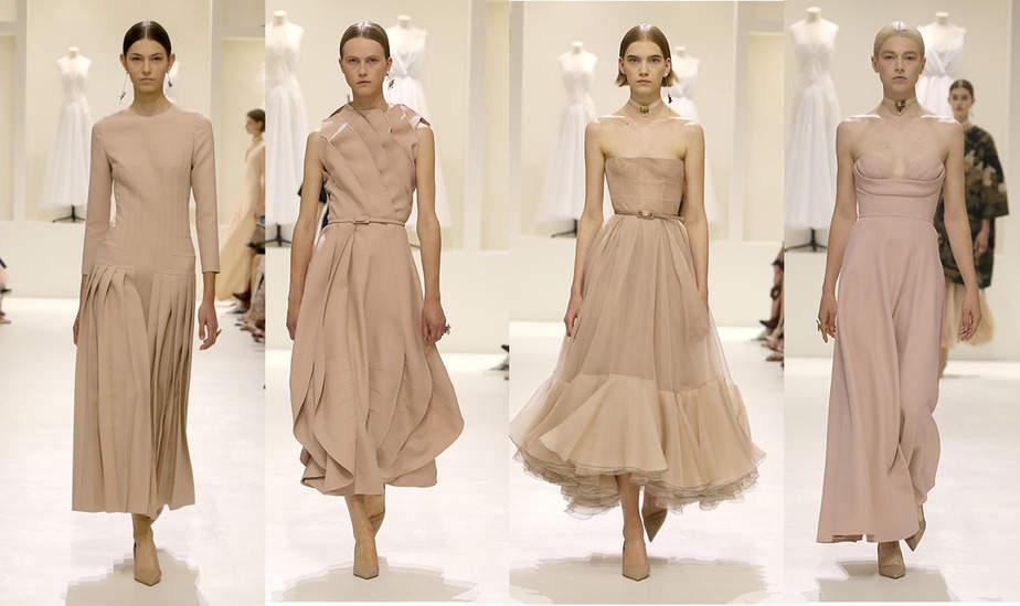 forma elegante excepcional gama de estilos y colores envío directo Dior colección femenina otoño invierno 2018-2019: la alta ...