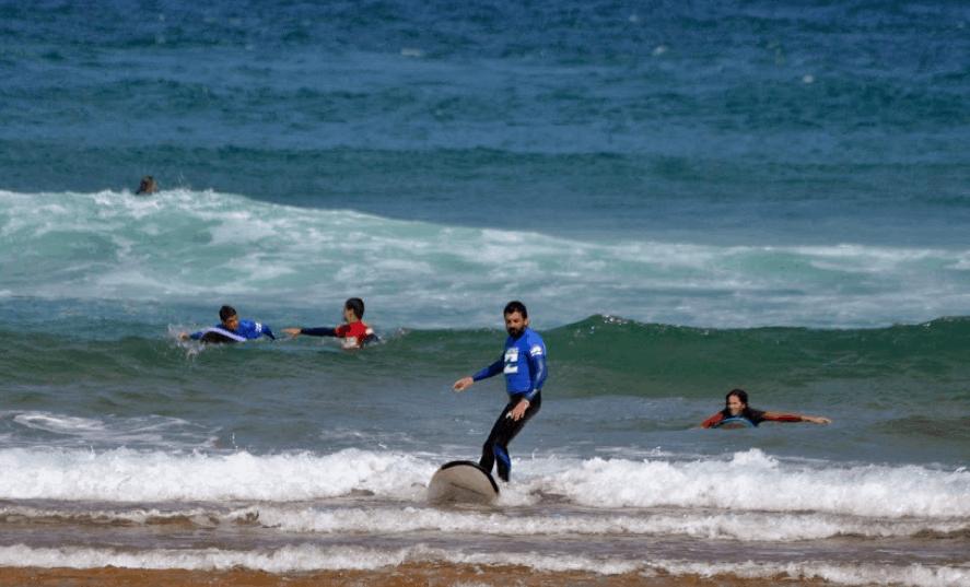 Cómo practicar surf sin límite