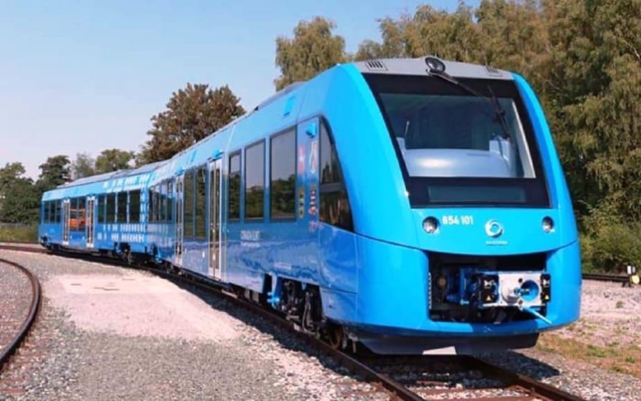 Por Alemania rueda el primer tren de pila de hidrógeno