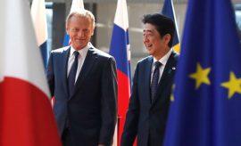 La UE y Japón eliminan casi todos sus aranceles comerciales