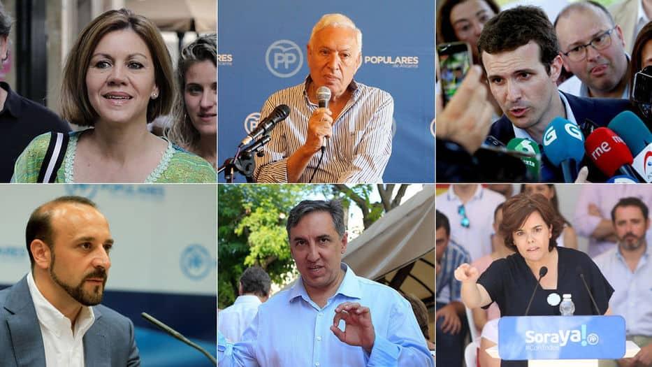 Candidatos del PP se someterán al escrutinio ese 5 de julio
