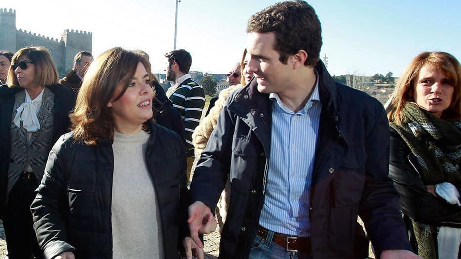 """El vídeo anónimo contra Santamaría eleva las alarmas contra el """"fuego amigo"""" en el PP"""