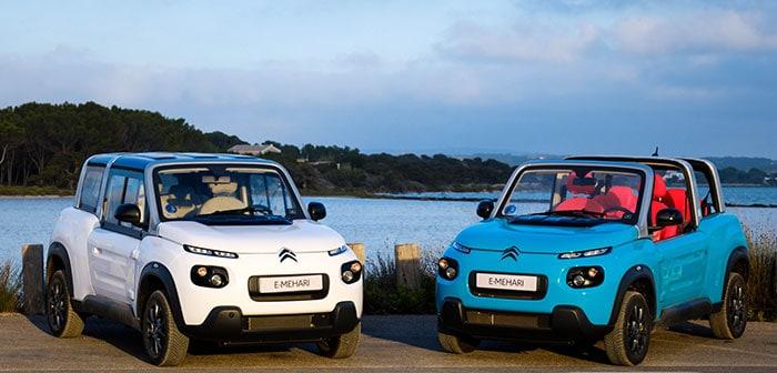 El nuevo Citroën E-Mehari llega a España con un auténtico salto generacional
