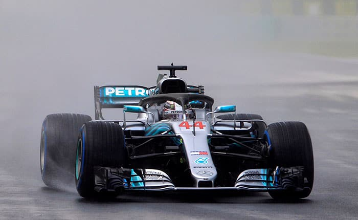 Formula One F1 - Hungarian Grand Prix - Hungaroring, Budapest, Hungary - July 28, 2018  Mercedes' Lewis Hamilton in action during qualifying  REUTERS/Bernadett Szabo
