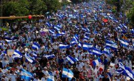 Decenas de miles de nicaragüenses piden la dimisión de Daniel Ortega