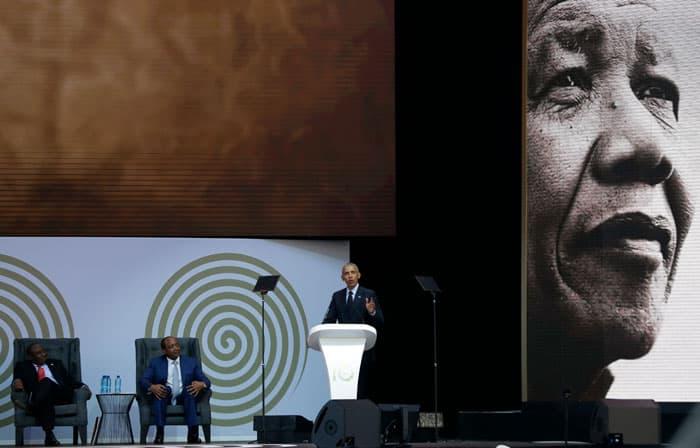 """El discurso Mandela de Obama: """"Los ricos tienen una deuda con el mundo"""""""