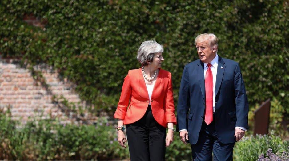 Trump da marcha atrás y respalda a May y su plan para el Brexit