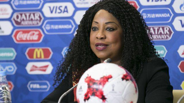 Fatma Samoura, secretaria general de la FIFA
