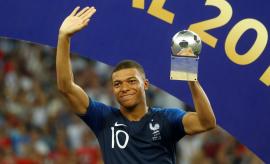 Mbappé, el segundo más joven en anotar en la final de un Mundial
