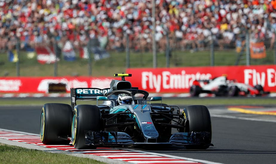 Formula One F1 - Hungarian Grand Prix - Hungaroring, Budapest, Hungary - July 29, 2018   Mercedes' Valtteri Bottas in action during the race   REUTERS/Bernadett Szabo