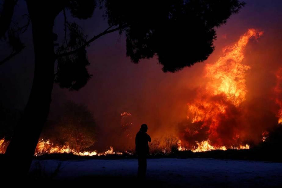 Incendios en Grecia