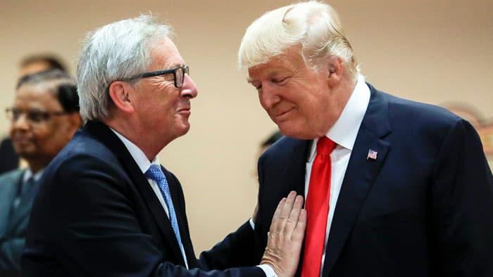 Juncker y Trump: el Versalles económico se arma en Washington