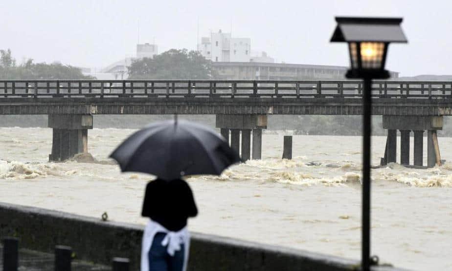 Las lluvias en Japón acaecidas este fin de semanamataron al menos a 66 personas