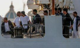 España acogerá a 50 de los 450 migrantes rescatados que están en Sicilia