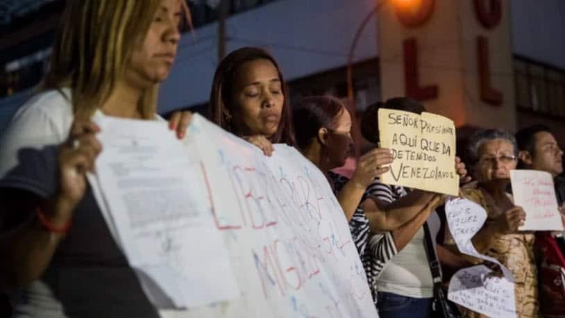 Nuevo motín de presos políticos venezolanos cumple tres días sin respuestas