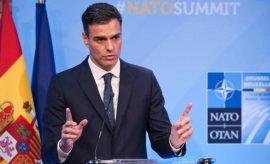 Sánchez asume el compromiso de destinar el 2% del PIB a gasto militar