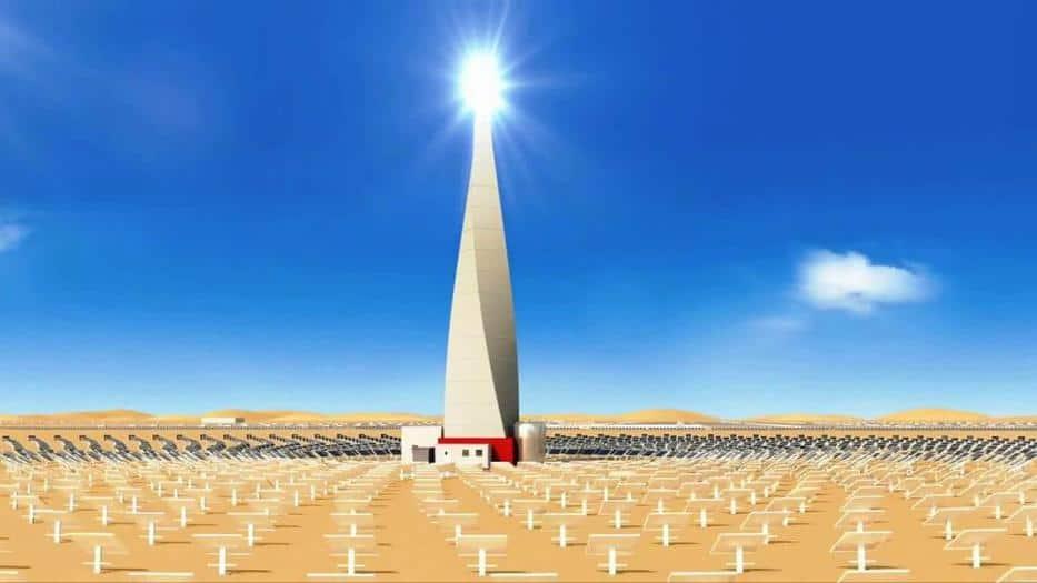 Planta fotovoltaica de Dubái