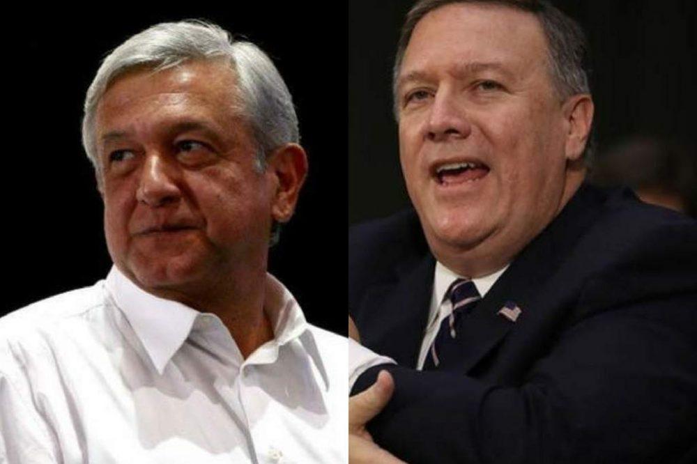 Reunión Pompeo y López Obrador tendrá lugar el 13 de julio