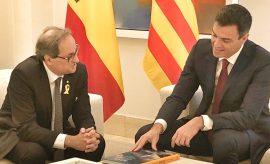"""Encuesta: Un 45% de españoles ve a Sánchez """"demasiado blando"""" con el independentismo"""